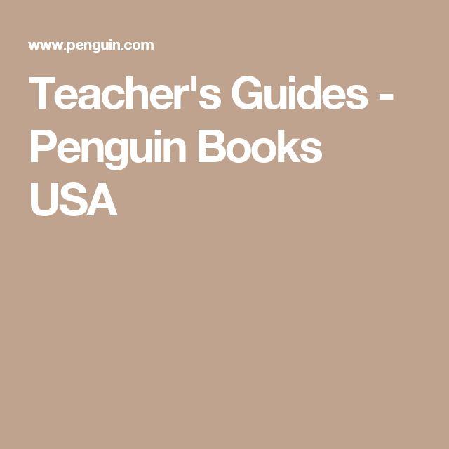 Teacher's Guides - Penguin Books USA