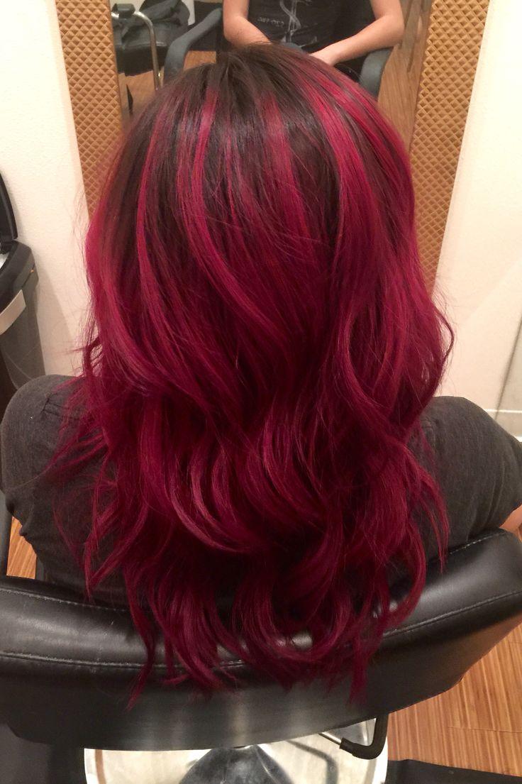 best th birthday hair images on pinterest colourful hair