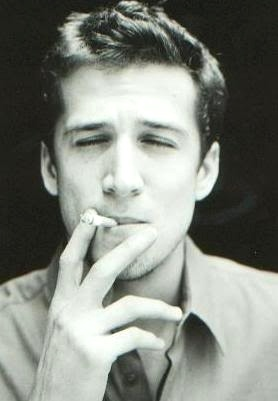 because he's beautiful Guillaume Canet