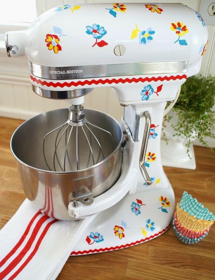 Kitchen Aid Vintage Mixer Old Style Logo