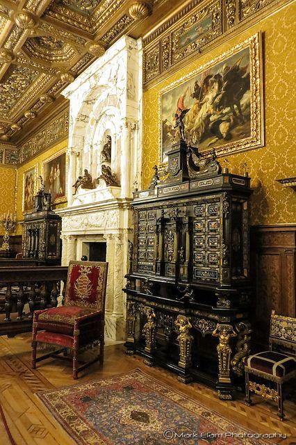 Peleş Castle (Florentine room), Sinaia, Romania, www.romaniasfriends.com