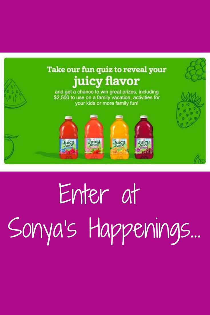 about-sonya-and-gracie | Sweeps | Juicy juice, Win prizes