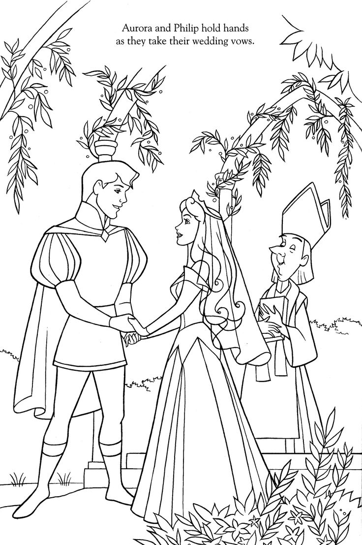Free coloring pages aurora - Disney Coloring Pages