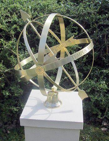 Jupiter Brass Armillary Sphere
