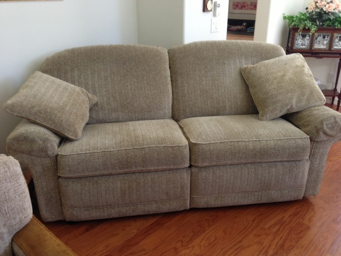 Lazy Boy Sofa Bed Sectional Fix Frame Double Recliner $250* | Decorating The House ...