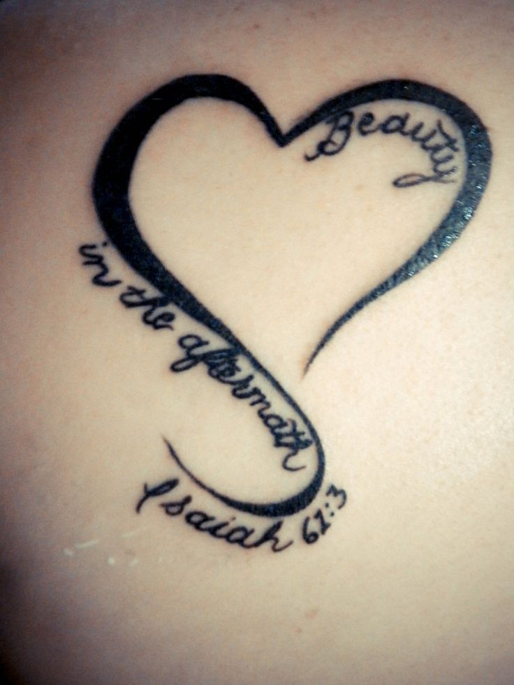 Christian Tattoos – Beauty in the Aftermath/ I WOULD DO RAINBOW COLORS