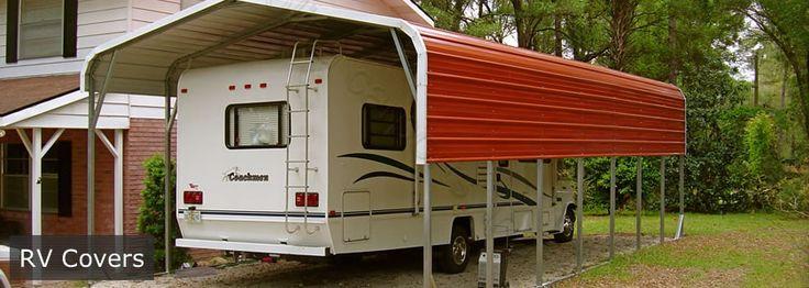 Carolina Carports - RV Covers - Visit www.carolinacarportstx.com