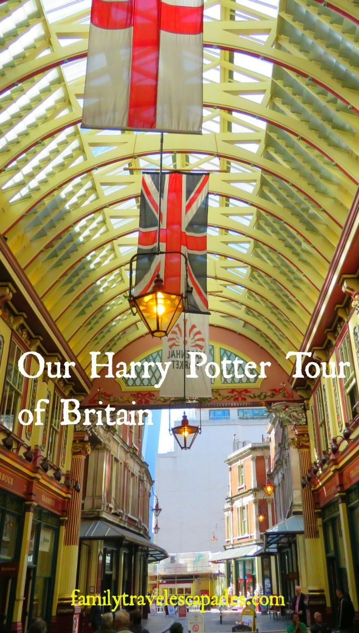 Leadenhall Market seen on our Harry Potter tour of Great Britain