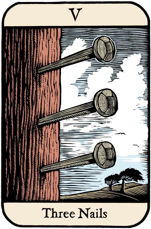 Cards of Wu - tarot satire. I love it.