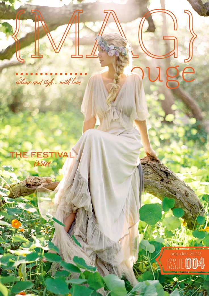 Issue 4 of the inspirational wedding e-mag {MAG}rouge.