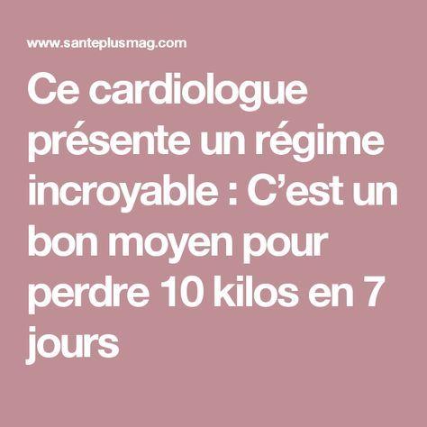 Ce cardiologue présente un régime incroyable : C'est un bon moyen pour perdre 10 kilos en 7 jours lire la suite / http://www.sport-nutrition2015.blogspot.com