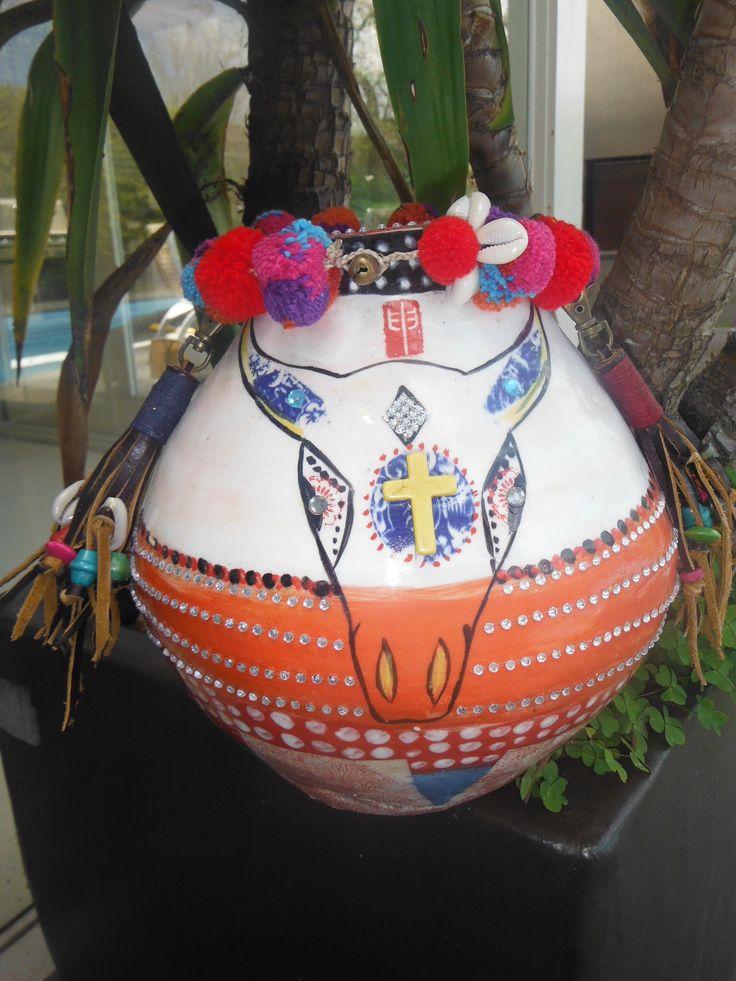 Tribal Ceramic Pot