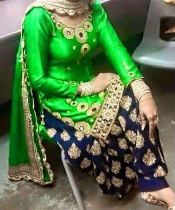PUNJABI PATIYALA @ 62% OFF Rs 1088.00 Only FREE Shipping + Extra Discount -  online Sabse Sasta in India - Salwar Suit for Women - 10040/20160528