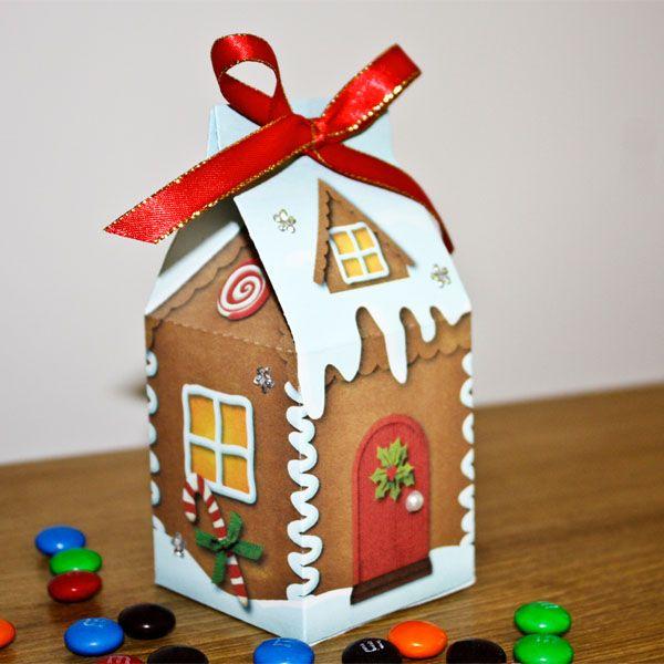 Milk Carton Gingerbread Houses - Bing Images
