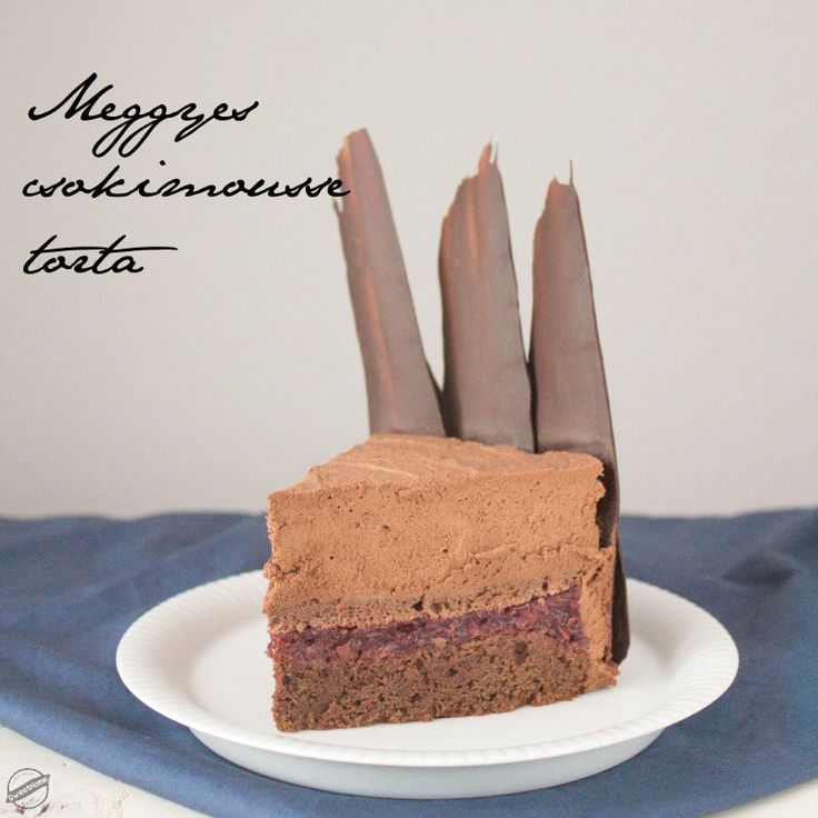 Meggyes csokimousse torta | SweetHome