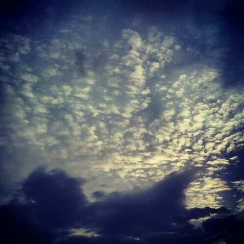 I love clicking pictures of clouds... It looks so magical.. #clouds #magical #beautiful