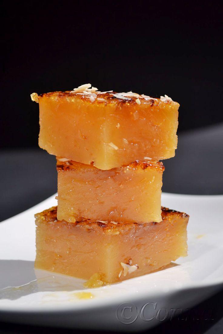 Sabor: Χαλβάς Φαρσάλων / Cornstarch and caramel pudding