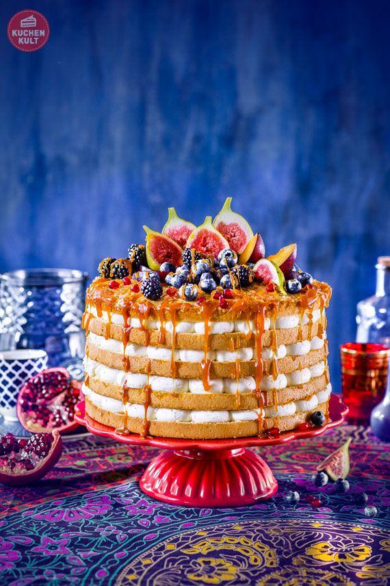 #Ethno #Hochzeit #Torte #Früchte #Karamellsoße #Gebäck #Mandel Bienenstich-Torte #Coppenrath und #Wiese #einfach #selber #machen #Rezept #Ideen #ethno #wedding #ideas #cake #gateau #layercake #caramel #fruits