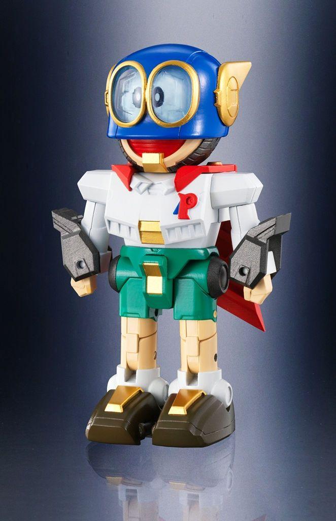 超合金40周年と藤子・F・不二雄80周年を記念し、「ドラえもん」「ドラミ」「パーマン」「コロ助」「チンプイ」「ゴンスケ」をモチーフにした計6体のロボットと、藤子・F・不二雄氏になじみ深い「ベレー帽