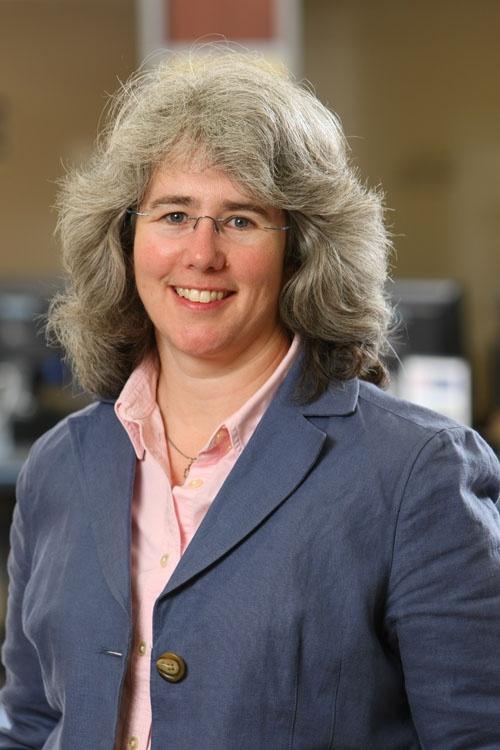 Sarah Stevenson, Science Librarian at the Killam Library.