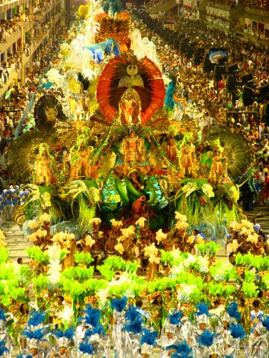 Go Wild In Rio During Carnival.