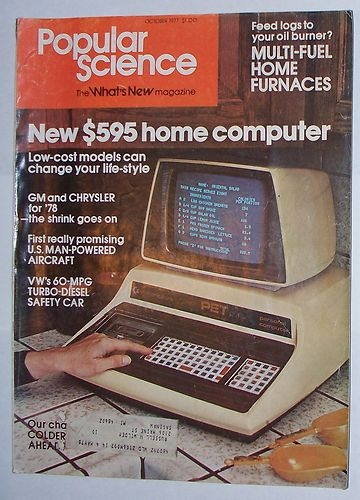 October 1977 Popular Science Magazine.