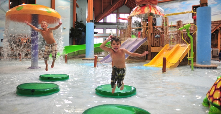 Cubby S Cove Indoor Waterpark At Wilderness On The Lake In
