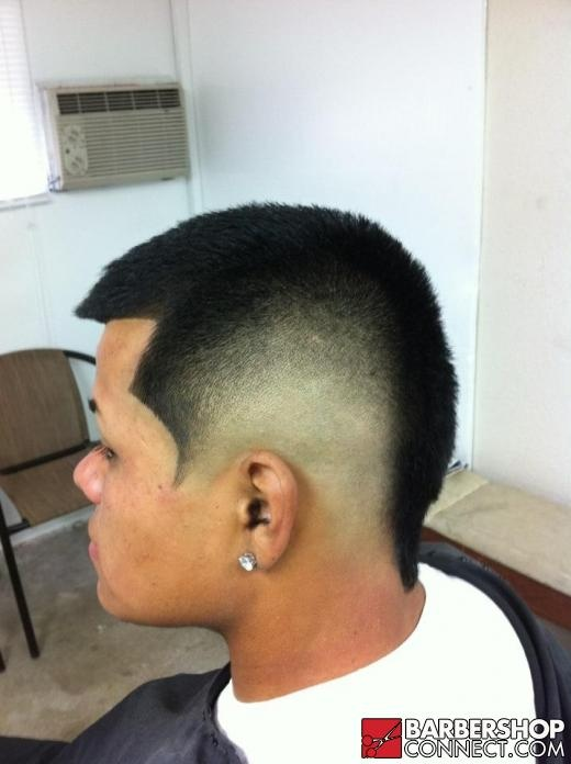 "Another example of a ""burst"" fade. 