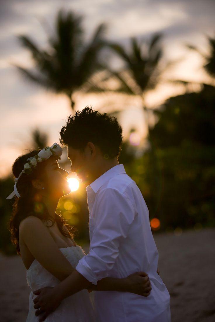 サンセットビーチフォトツアー #sunset #wedding