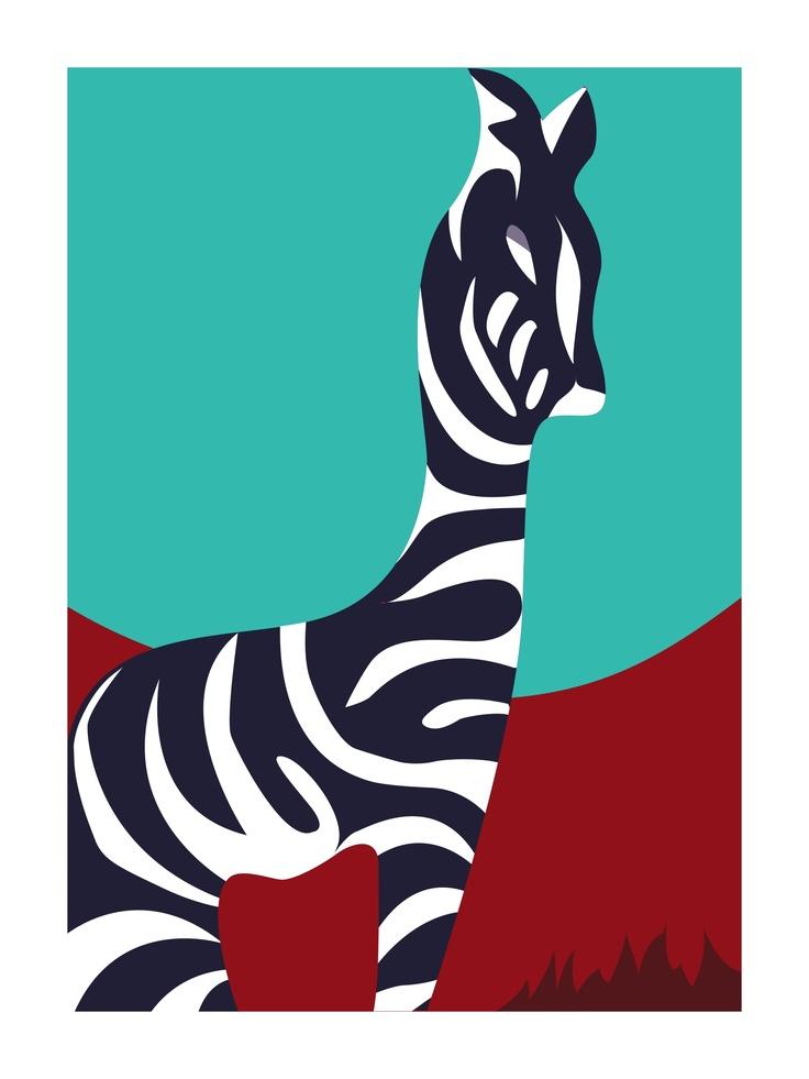 Zebra from Brian Ragsdale studio