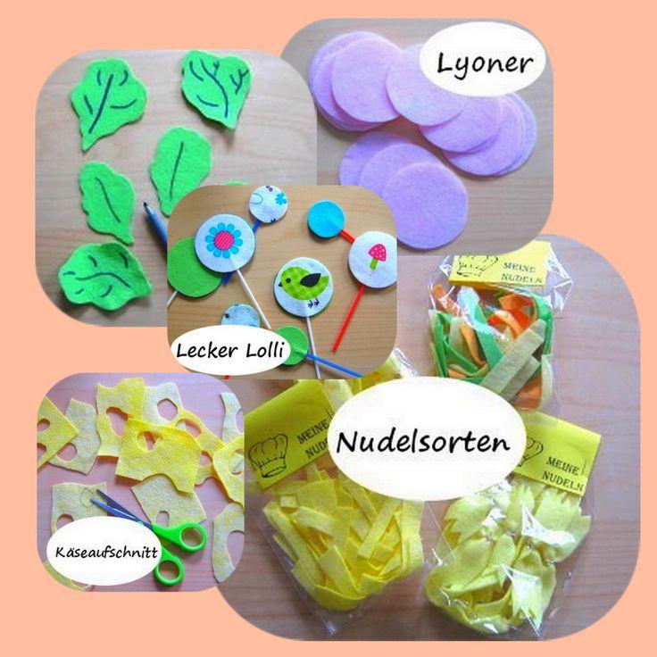 DIY - Zubehör für den Kaufmannsladen Teil 1: Wurst, Käse, Lollies, Salat & Nudeln. Komplette Anleitung unter www.stadtlandkind.info