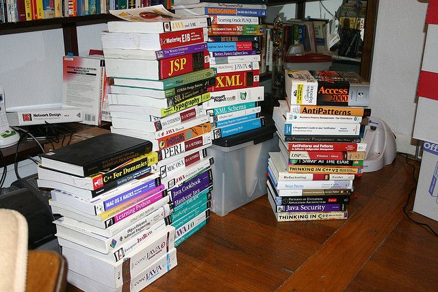 Two sites to sell your used books back to and make money...