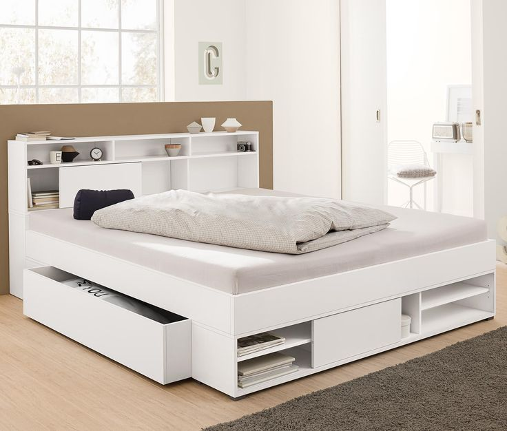 Stauraumbett 140x200 ikea  Bett 140x200 Mit Bettkasten Ikea: Ikea bett malm cm gute ideen f ...