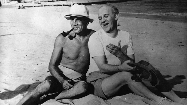 Walter Winchell and Al Jolson.  What a classic!