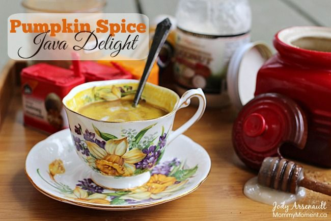 Pumpkin Spice Java Delight