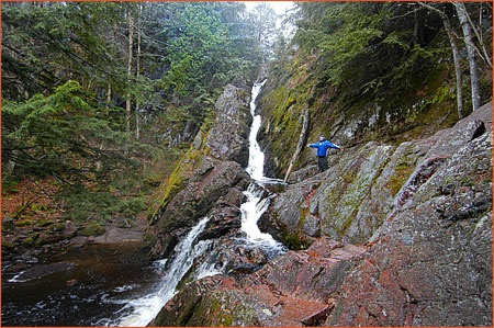 This is morgan falls in chequamegon national forest for Morgan falls