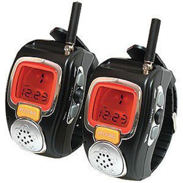 Walkie Talkie Wrist Watch Set Digital 2 Way Radios Stuff