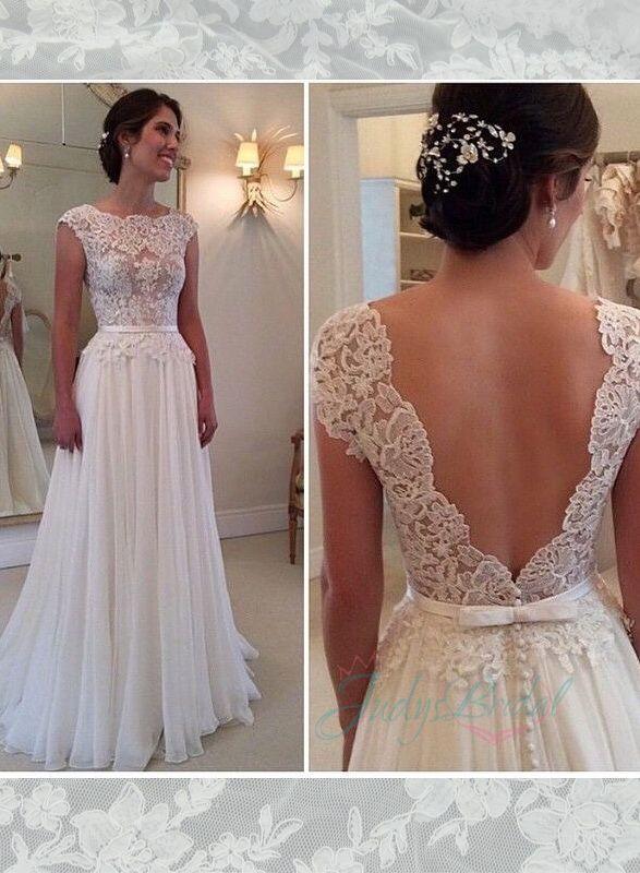 17 Best ideas about Straight Wedding Dresses on Pinterest | White ...