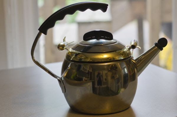 Kamenstein Tea Kettle w/ Spinning Rockets