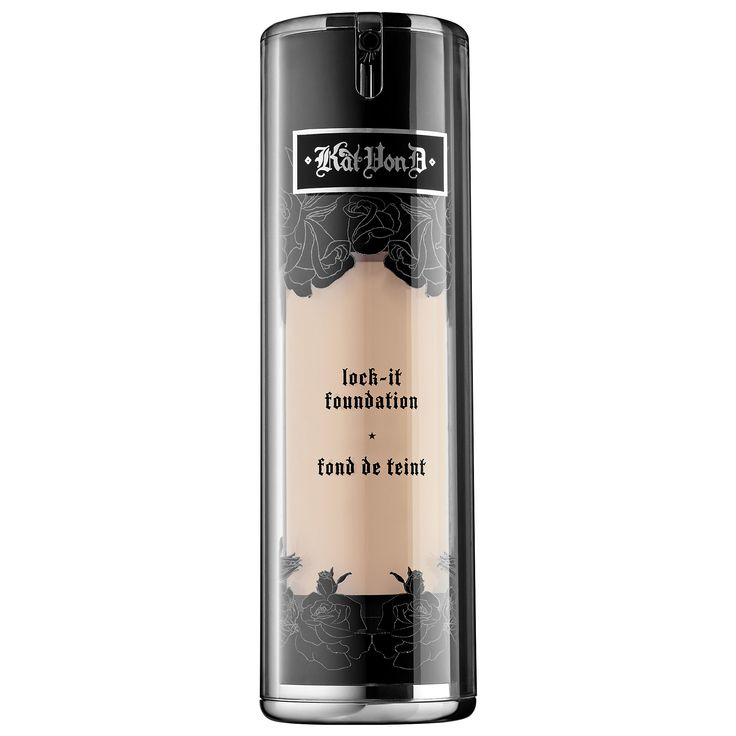 Shop Kat Von D's Lock-It Foundation at Sephora. This high-pigment, full-coverage foundation leaves a long-lasting, beautiful finish.