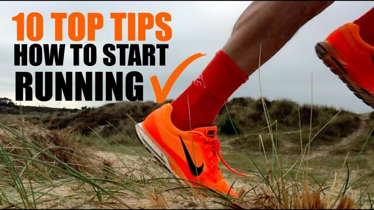10 Top tips on how to start running