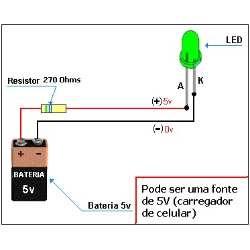 Kit Didático (aprendendo Eletronica Na Prática)passo A Passo - R$ 10,00 no MercadoLivre