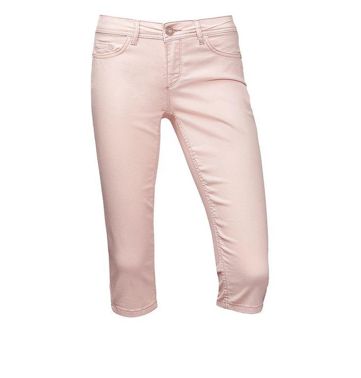 Middle Waist 3/4-Jeans York    Slim Fit Capri-Denim mit 3/4-langem, schmalen Bein in hellen Unifarben: das Modell York von Street One. Die 3/4-lange Jeans in schmaler Passform hat eine mittlere Leibhöhe und enganliegende, verkürzte Beine in sommerlicher Caprihosen-Länge. Der authentisch-schlichte Summer-Style sorgt in hellen Unifarben für einen echten Frische-Kick. Das leichte, weiche Material ...
