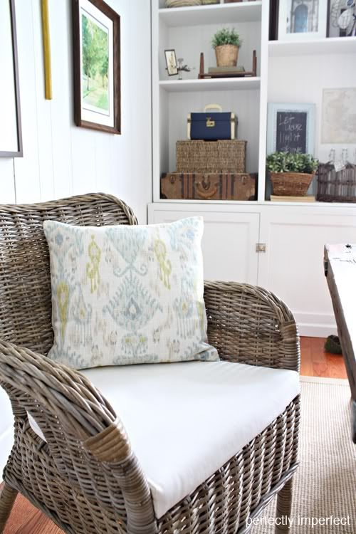 The Dining Room Reveal Wicker Dining Chairs Wayfair