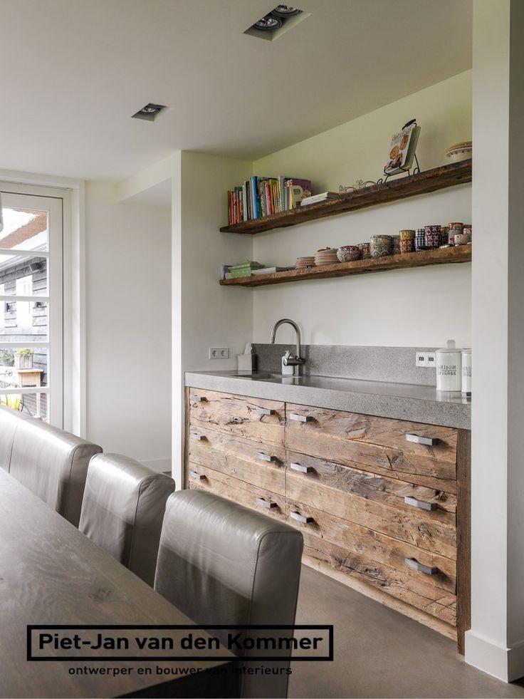 Luxe Pantry Keuken : Luxe woonboerderij – Piet-Jan van den Kommer – keuken koffienis Eat