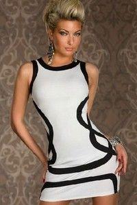 I think you'll like M XXL Sexy Dresses Fashion Sexy Underwear Basic Stripe Sleeveless Prom Laciness Sexy Hip Slim One-piece Dress Club Dreeses #W057. Add it to your wishlist!  http://www.wish.com/c/53e0d6481cdba2117af58a25