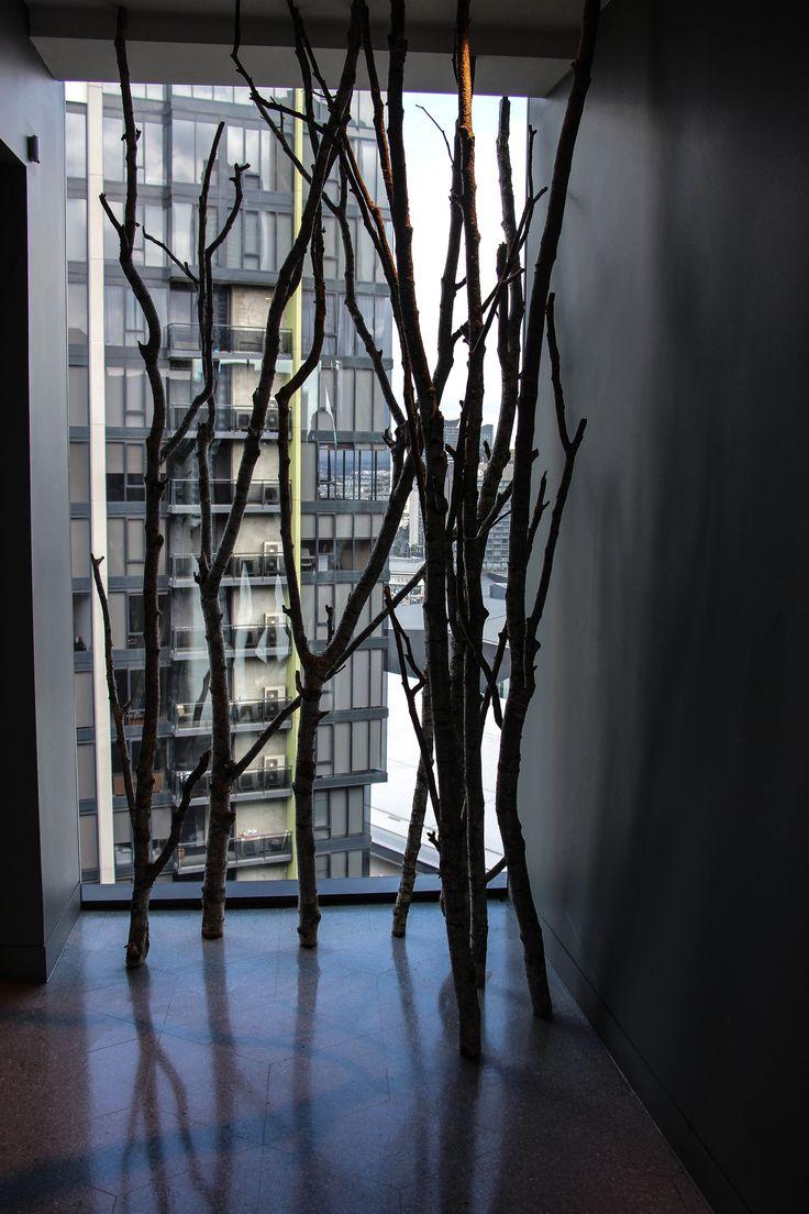 CROWN HOTEL - corridor window
