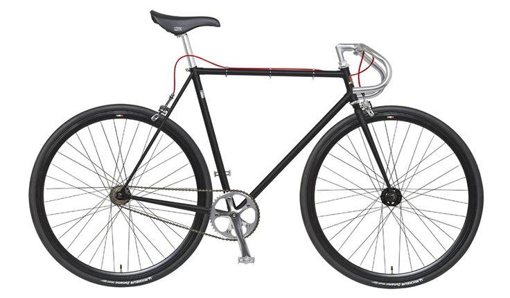 rower - Eingangrad - Mattschwarz - von frenorosso