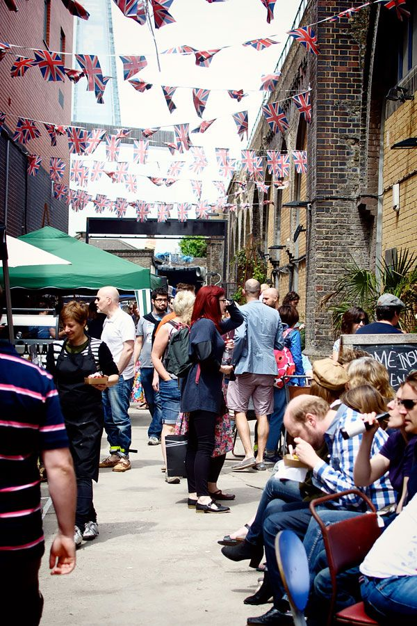 Maltby Street Market is where you'll find all the locals on a Saturday morning. It's a lot smaller than Borough but with an interesting combination of food stalls, pop-up bars, and coffee shops definitely worth a visit. Before you leave, don't forget to try St John's legendary doughnuts!
