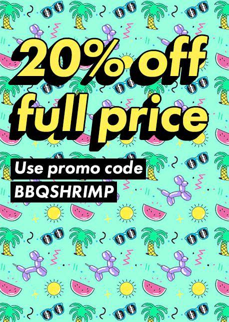 20% off at ASOS AUS & NZ. Use coupon code: BBQSHRIMP http://www.codesium.com/asos-discount-code/